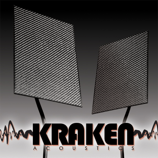 Kraken Acoustic website, designed in Manchester